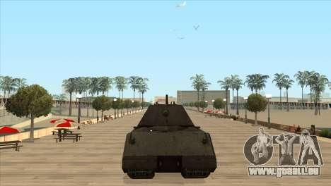 Panzerkampfwagen VIII Maus pour GTA San Andreas troisième écran