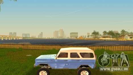 UAZ 3151 für GTA Vice City Innenansicht