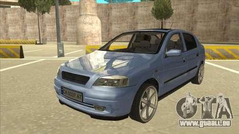Opel Astra G Stock für GTA San Andreas