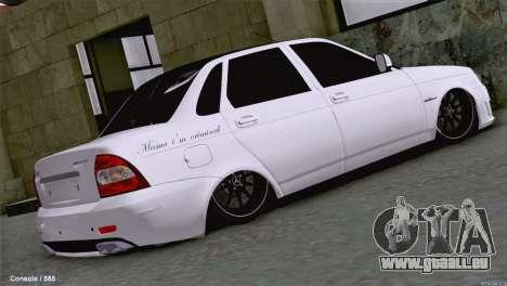 Lada Priora AMG Version für GTA San Andreas zurück linke Ansicht