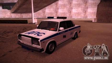VAZ 2107 Polizei DPS für GTA San Andreas