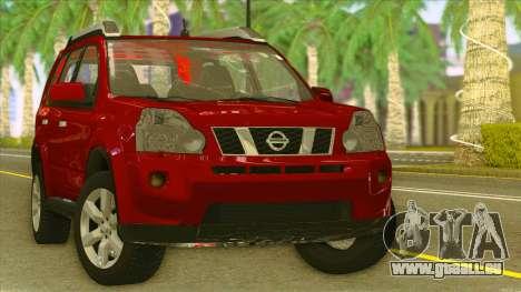 Nissan X-Trail 2009 für GTA San Andreas Rückansicht