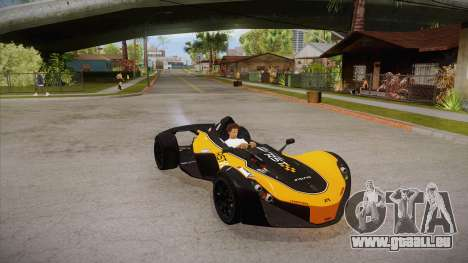 BAC Mono 2011 pour GTA San Andreas vue de côté