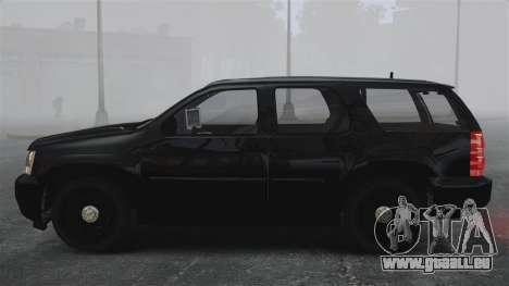 Chevrolet Tahoe 2010 PPV SFPD v1.4 [ELS] für GTA 4 linke Ansicht