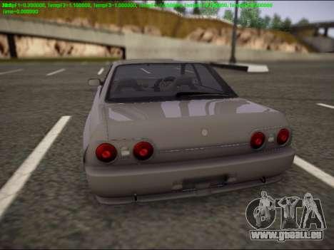 Nissan Skyline R32 pour GTA San Andreas laissé vue