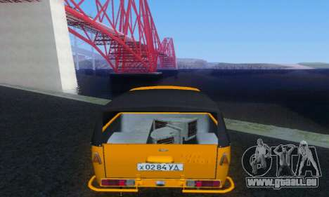 IZH Toupet für GTA San Andreas rechten Ansicht