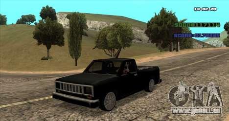 NEW Bobcat pour GTA San Andreas