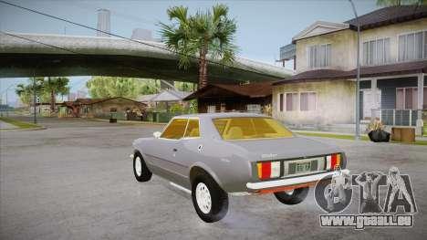 Curseur de FlatOut pour GTA San Andreas sur la vue arrière gauche