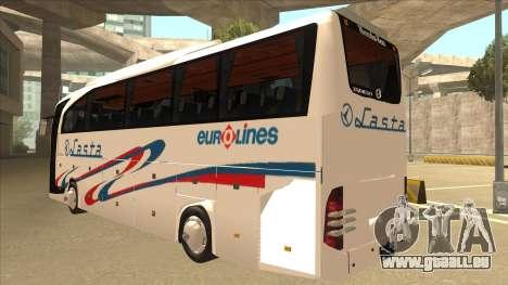 Mercedes-Benz Lasta Bus für GTA San Andreas Rückansicht