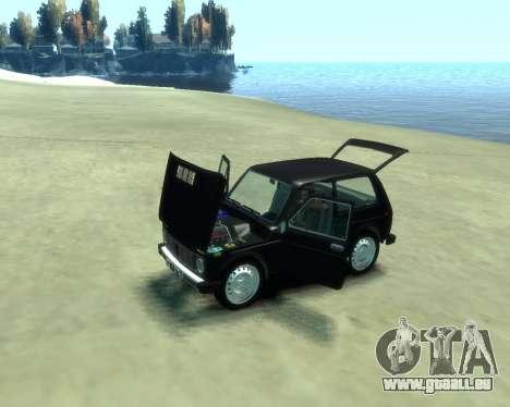VAZ 2121 Niva pour GTA 4 Vue arrière de la gauche