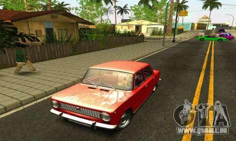 BPAN VAZ 2101 pour GTA San Andreas salon