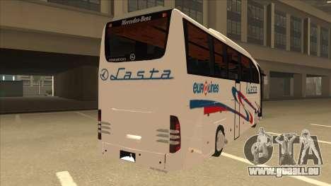 Mercedes-Benz Lasta Bus pour GTA San Andreas vue de droite