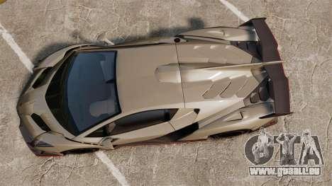 Lamborghini Veneno für GTA 4 rechte Ansicht