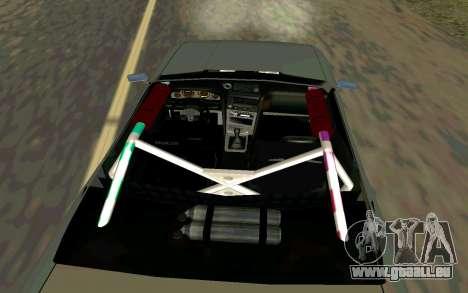 Elegy Cabrio pour GTA San Andreas sur la vue arrière gauche