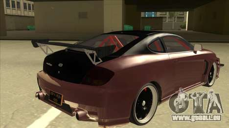 Hyundai Tiburon Coupe Tuning für GTA San Andreas rechten Ansicht