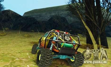 UAZ Prototyp joker für GTA San Andreas zurück linke Ansicht