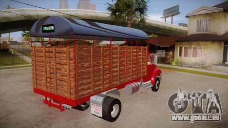 International 4700 für GTA San Andreas rechten Ansicht