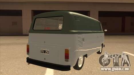 VW T2 Van für GTA San Andreas rechten Ansicht