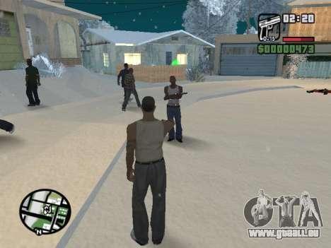 Umschalten zwischen Zeichen wie in GTA V für GTA San Andreas sechsten Screenshot