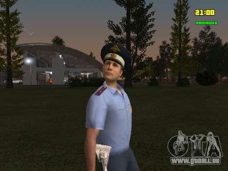 DPS Offizier für GTA San Andreas zweiten Screenshot