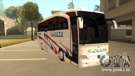 Mercedes-Benz Lasta Bus für GTA San Andreas linke Ansicht