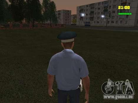 DPS Offizier für GTA San Andreas dritten Screenshot