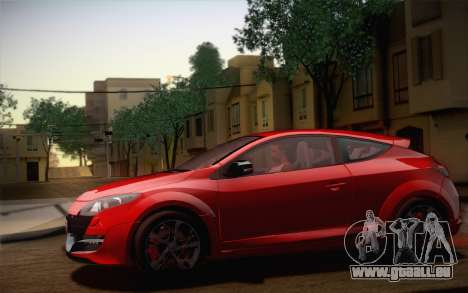 Renault Megane RS Tunable pour GTA San Andreas moteur