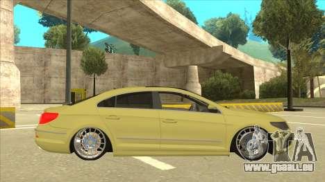 VW Passat CC für GTA San Andreas zurück linke Ansicht