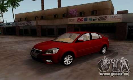 Kia Rio pour GTA San Andreas