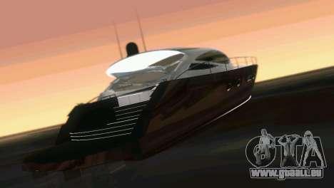 Cartagena Delight Luxury Yacht für GTA Vice City Innenansicht