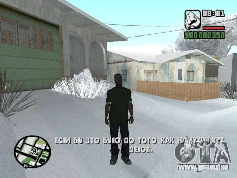 Umschalten zwischen Zeichen wie in GTA V für GTA San Andreas zweiten Screenshot