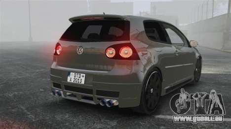 Volkswagen Golf GTi DT-Designs pour GTA 4 Vue arrière de la gauche