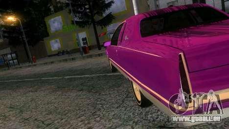 Cadillac Fleetwood Coupe pour une vue GTA Vice City de la gauche