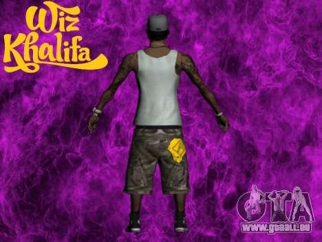 Wiz Khalifa pour GTA San Andreas deuxième écran