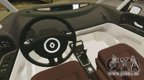 Renault Espace IV Initiale pour GTA 4 est une vue de l'intérieur