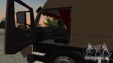 Volvo FM16 pour GTA San Andreas vue arrière