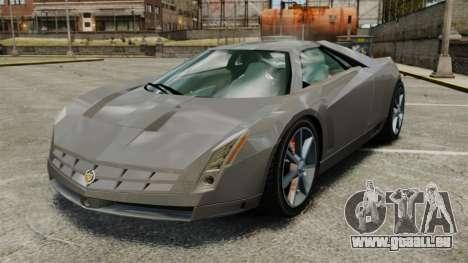 Cadillac Cien XV12 [EPM] pour GTA 4