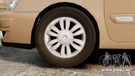 Renault Espace IV Initiale für GTA 4 Rückansicht