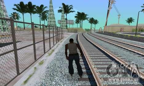 Patins de rouleau pour GTA San Andreas deuxième écran