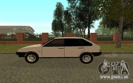 VAZ 21093 pour GTA San Andreas sur la vue arrière gauche