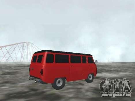 UAZ 22069 pour GTA San Andreas vue de droite