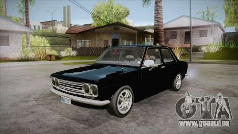 Datsun 510 RB26DETT Black Revel pour GTA San Andreas