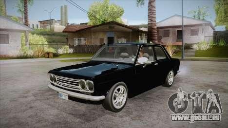 Datsun 510 RB26DETT Black Revel für GTA San Andreas
