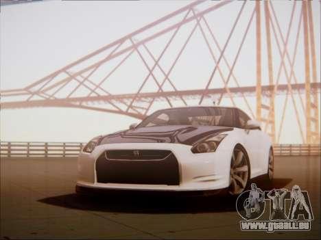 Nissan GT-R R35 Spec V 2010 pour GTA San Andreas