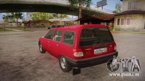 IZH 21261 Fabula BETA pour GTA San Andreas sur la vue arrière gauche