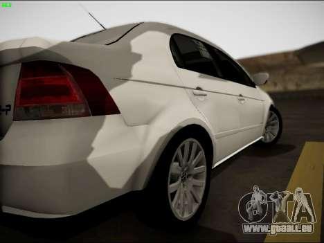 Volkswagen Voyage Taxi für GTA San Andreas rechten Ansicht