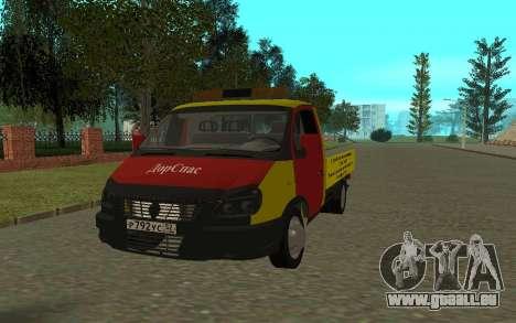 3302 Gazelle dépanneuse Business pour GTA San Andreas