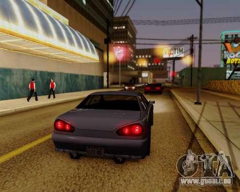 ENBSeries pour PC puissant pour GTA San Andreas troisième écran