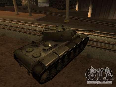 KV-1 pour GTA San Andreas laissé vue