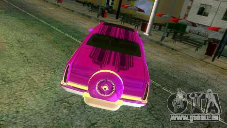 Cadillac Fleetwood Coupe für GTA Vice City obere Ansicht